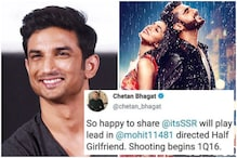 Not Arjun Kapoor, Here's the Real Reason Why Sushant Singh Rajput Opted Out of 'Half Girlfriend'