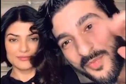 Sushmita Sen's Beau Rohman Shawl Gives Romantic Twist to 'Bade Ache Lagte Hain' for the Actress