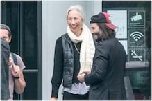 Keanu Reeves Returns to Matrix 4 Sets in Berlin, Girlfriend Alexandra Grant Accompanies