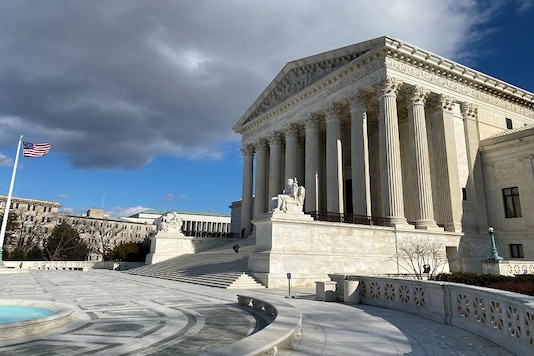 File photo of the US Supreme Court building in Washington.  (Reuters)