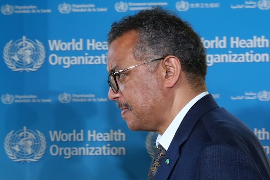Tedros Adhanom Ghebreyesus, director-general of World Health Organization (WHO), attends a news conference in Geneva, Switzerland, June 25, 2020. REUTERS/Denis Balibouse