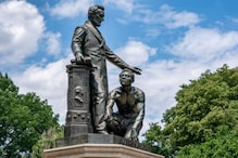 US Protesters Urge to Remove Statues of Slave Kneeling Before Abraham Lincoln