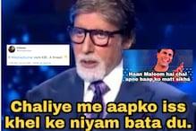 Someone Imagined Akshay Kumar on Amitabh Bachchan's 'KBC' and it is Full of 'Hera Pheri'