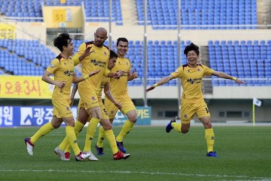 Gwangju FC (Photo Credit: @GWANGJU_FC)