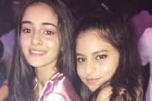 Besties Ananya Panday and Suhana Khan Look Cute in This Throwback Pic