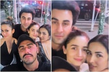 Ranbir Kapoor-Alia Bhatt, Arjun Kapoor-Malaika Arora are on Double Date in This Throwback Pic