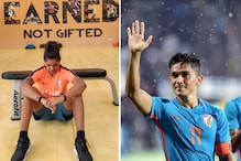 Aditi Chauhan Wants to Emulate Sunil Chhetri's Fitness: He is an Idol for All of Us