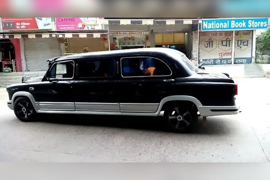 This Hindustan Ambassador Modified Into a Limousine Seems Too Good to be True