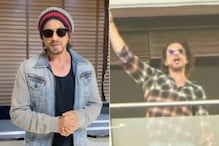 Shah Rukh Khan Spotted Filming New Project At His Mannat's Balcony; Watch Viral Video