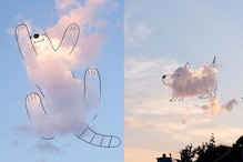 Shapes on Clouds: This Artist has Recreated Our Favourite Childhood Game on a Twitter Thread