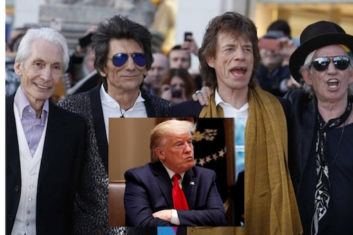 The Rolling Stones may be mulling a lawsuit against Donald Trump for repeatedly using their songs in campaign rallies | Image credit: Reuters