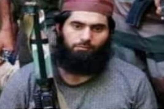 File photo of Hizbul Mujahideen terrorist Masood. (Credits: ANI)