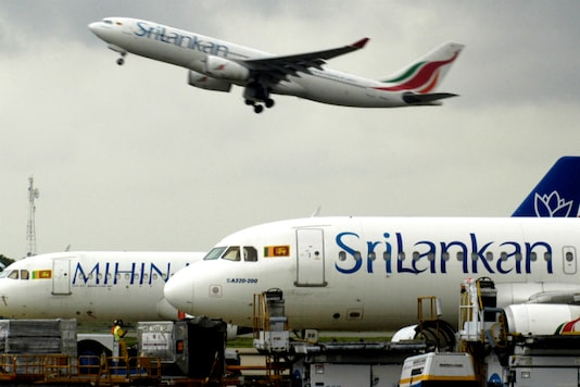 File photo of a SriLankan Airlines flight taking off from Bandaranaike International Airport in Colombo. (Pic Source: Reuters)