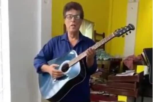 Ex-AIR Artiste Sings in Knee-deep Water as Assam Reels in Flood, Wins Praise for Spreading Cheer