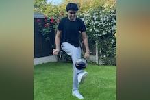 Football player Rajan Singh Purewal is winning hearts