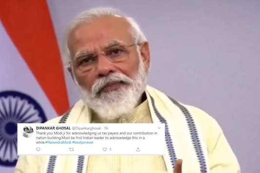 Thank You, Say Netizens as PM Modi Hails Contribution of Tax Payers in Lockdown Crisis