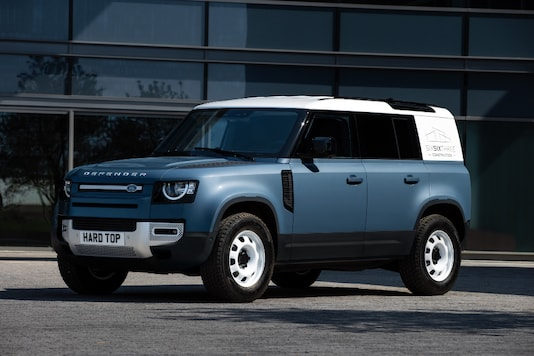 Land Rover Defender Hard Top. (Image source: Land Rover)