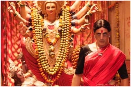 Akshay Kumar plays the role of a transwoman in his upcoming film Laxmi Bomb   Image credit: Twitter