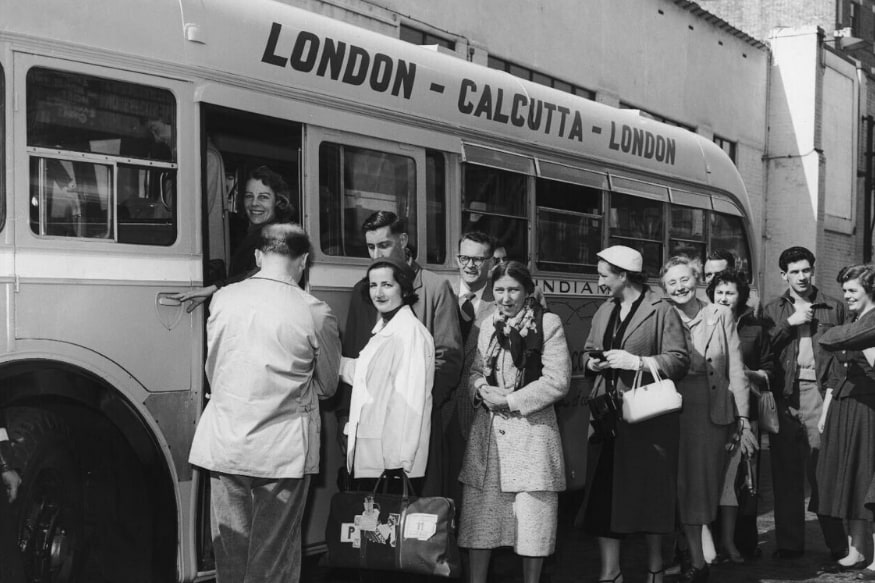 A Bus Ride From London to Kolkata in 1950s? Yes, The Viral Photo ...