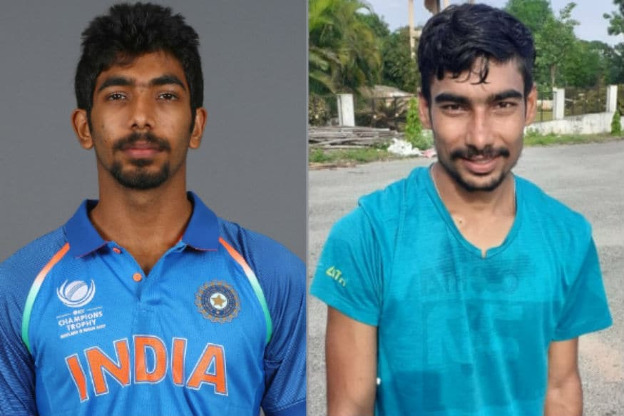 Jasprit Bumrah's Doppelganger Spotted in Hyderabad Who's a State Level Walker