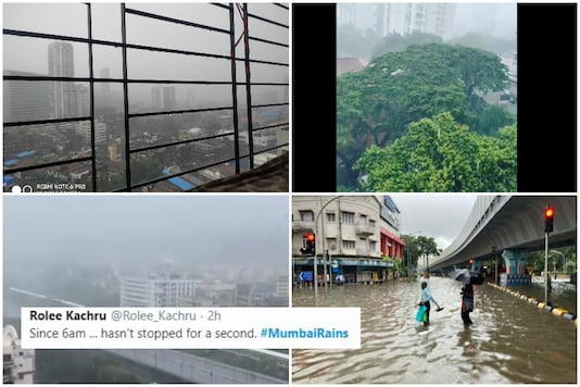 Social Media Floods With Photos as Monsoon Blues Return to Mumbai with Hours of Heavy Downpour