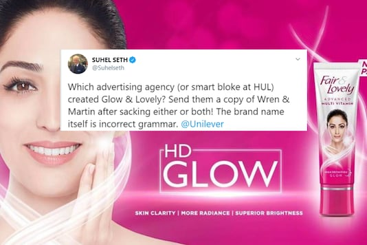 Fair & lovely just changed its name to Glow & Lovely | Image credit: Twitter