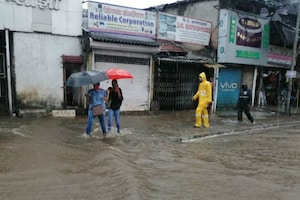 Incessant Rains Lash Mumbai, Cause Water-logging In Several Places