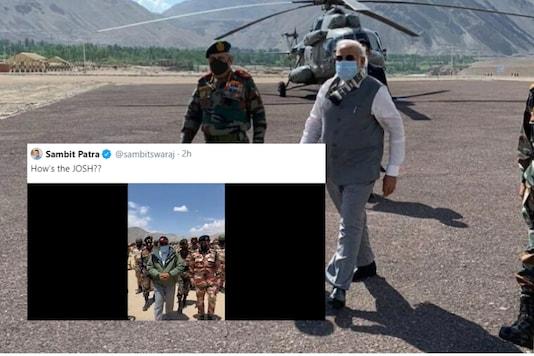 PM Modi in Leh | Image credit: Twitter