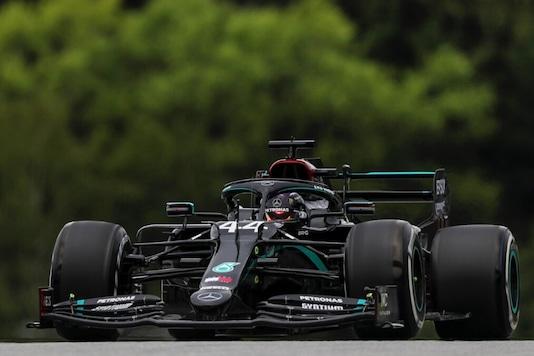 Mercedes' Lewis Hamilton (Photo Credit: Twitter)