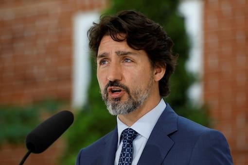 FILE PHOTO: Canada's Prime Minister Justin Trudeau. REUTERS/Blair Gable/File Photo