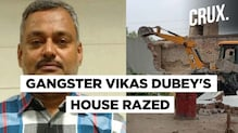 UP Govt Demolishes Vikas Dubey's House & Ropes In Special Task Force to Nab Him