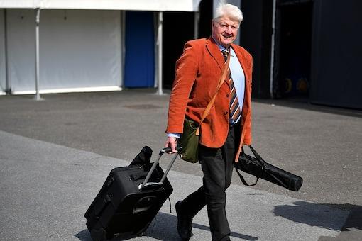 File photo of British PM Boris Johnson's father Stanley Johnson. REUTERS/Dylan Martinez/File Photo