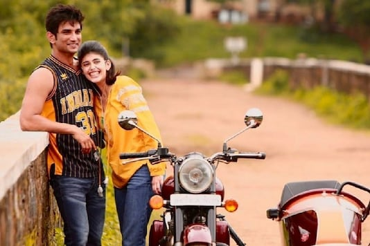 Sushant Singh Rajput's Dil Bechara Co-Actor Sanjana Sanghi Pens Emotional Note with BTS Pic
