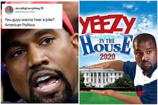 Jesus Wept Kanye West S Bid For Us Presidency Unleashes Memes On Twitter
