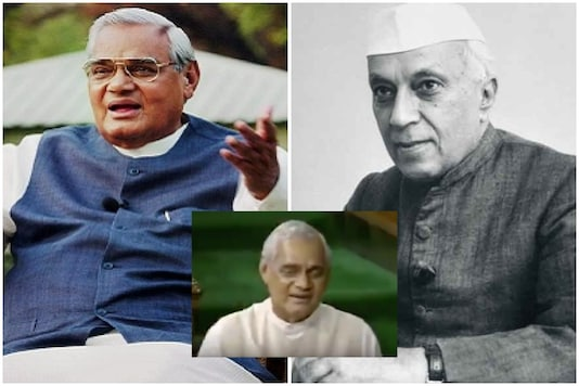 Atal Bihari Vajpayee once spoke of his relationship with Jawaharlal Nehru in Parliament| Image credit: File Photo/Twitter