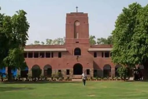 File photo of St Stephens College, DU. (Credits: News18)