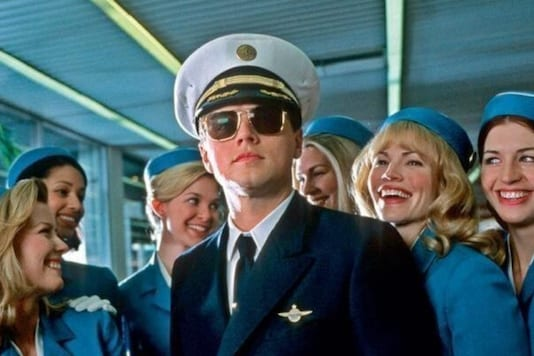 A still from the 2002 Hollywood film 'Catch Me If You Can' starring Leonardo DiCaprio as con-man turned security consultant Frank Abagnale | Image for representation | Credit: YouTube