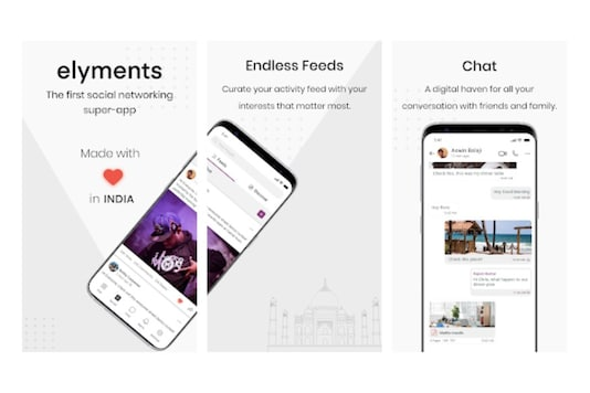 Elyments Wants to Replace Facebook and WhatsApp with a Made in India 'Super App'