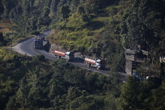 For representation: File photo of Nepalese tankers heading to the Chinese border of Kerung.  (REUTERS/Navesh Chitrakar )
