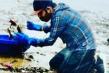 Randeep Hooda Steps Out to Clean Beach Amid Covid-19 Pandemic
