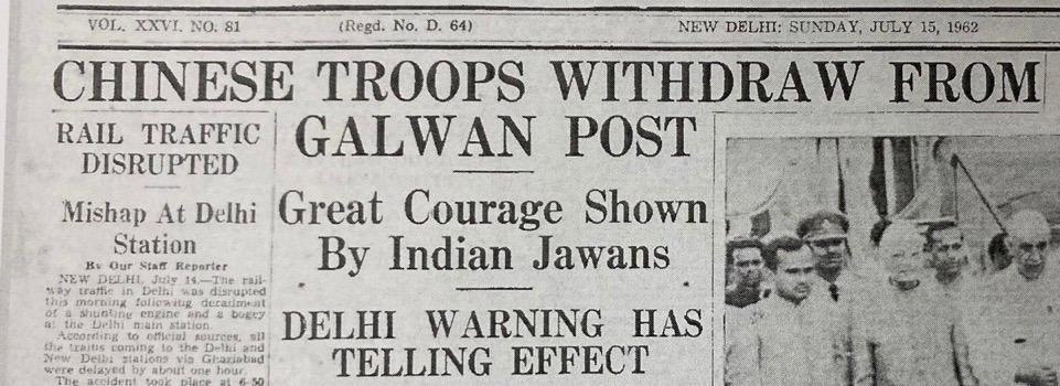 A 1962 News Report & Cautionary Tale: Why Indian Army is Wary of ...
