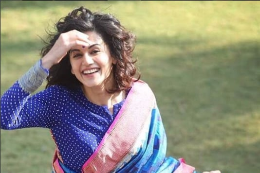 Actress Taapsee Pannu resumed shooting on Tuesday morning