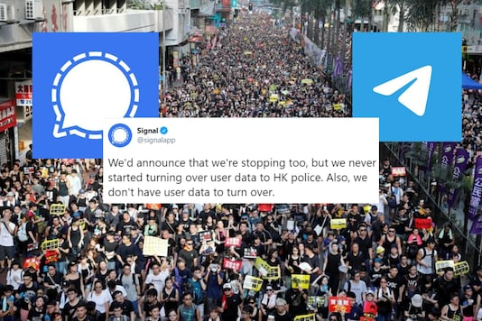 Telegram has refused to share user data with Hong Kong Authorities in wake of National Security Law   Image credit: Reuters/Twitter