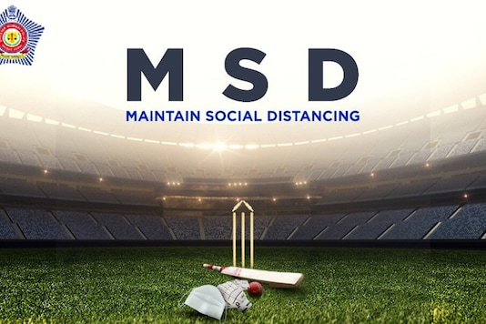 'Maintain Social Distancing': Mumbai Police Wish MSD on His Birthday with 'Stay Home' Message