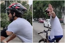 Video of Arjun Bijlani Cycling will Give You Major Fitness Goals