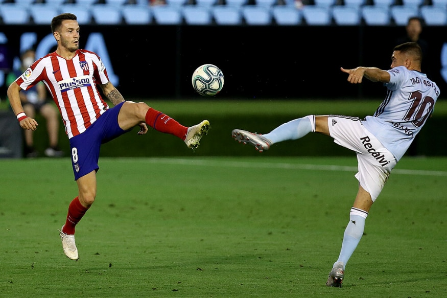 La Liga: Atletico Madrid Held to 1-1 Draw by Celta Vigo to be Dealt Champions League Blow