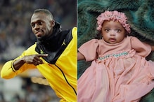 Usain Bolt Shares 1st Photos of Daughter, Reveals Her Name 'Olympia Lightning' on Partner's Birthday