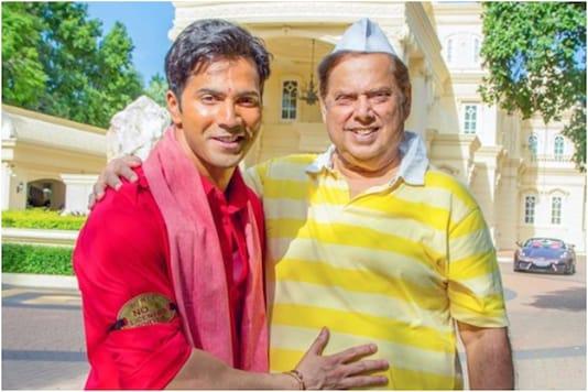 Varun and David Dhawan