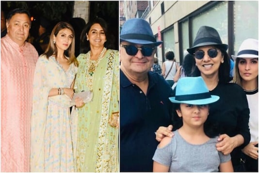 Pictures of Neetu Kapoor with family