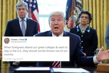 Donald Trump's 2015 Tweet Welcoming Foreign Students Goes Viral After US Asks Them to Leave